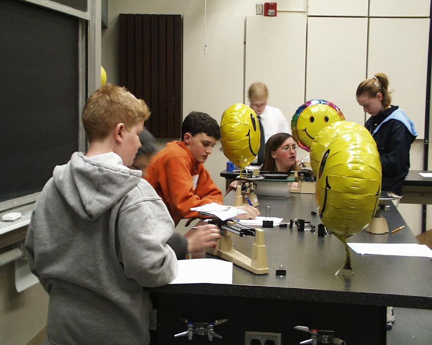 Utah Science Olympiad: Physical Science Lab (2000)