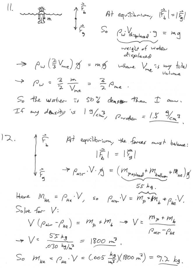 Physics 2010, Spring 2004, Weber State University