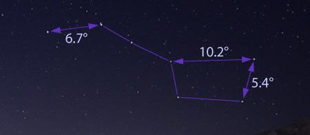 Understanding Astronomy Motion Of The Stars - Us-dark-sky-map